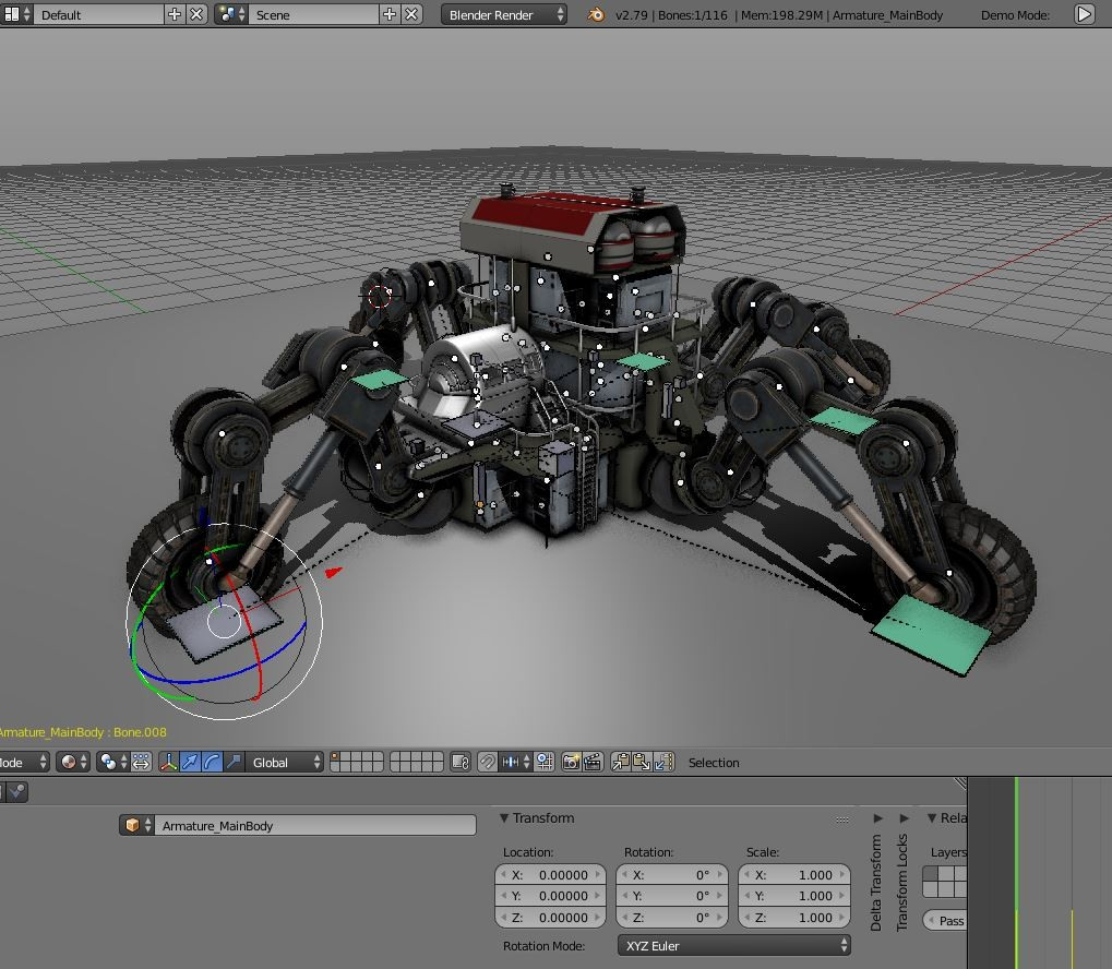 Futuristic Five-Wheeled Building - Five Wheeler  preview image 3