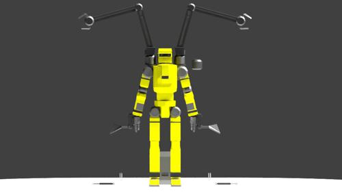 Low Poly Construction Mech -Adjutor preview image