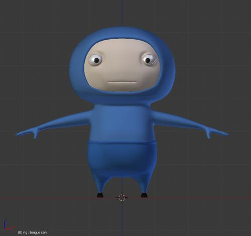 BlueGuy_Rigged preview image