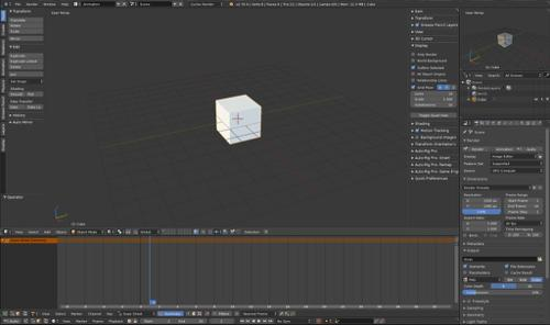 Blender 2.8 theme for 2.79 preview image