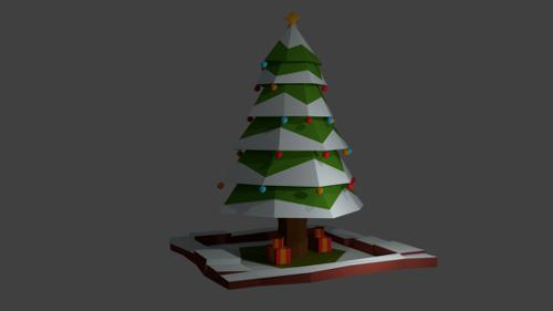 Low Poly Xmas Tree preview image