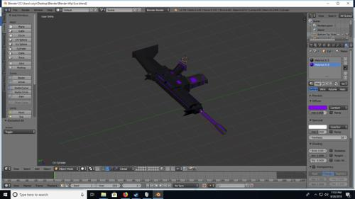 Scifi Rifle Purple preview image
