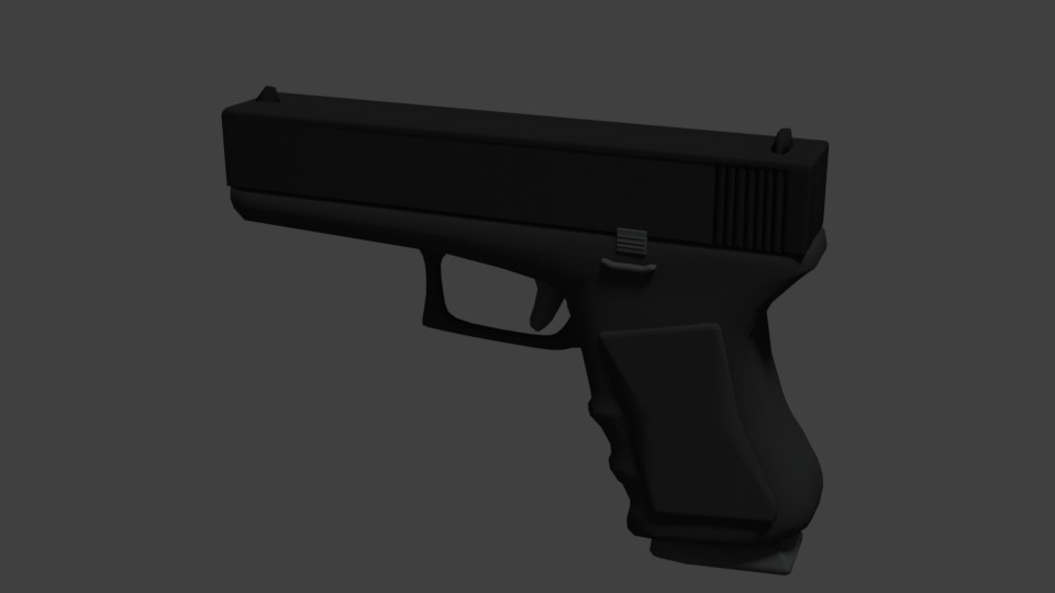 GLOCK-17 [GAME READY] | Made by SP preview image 1