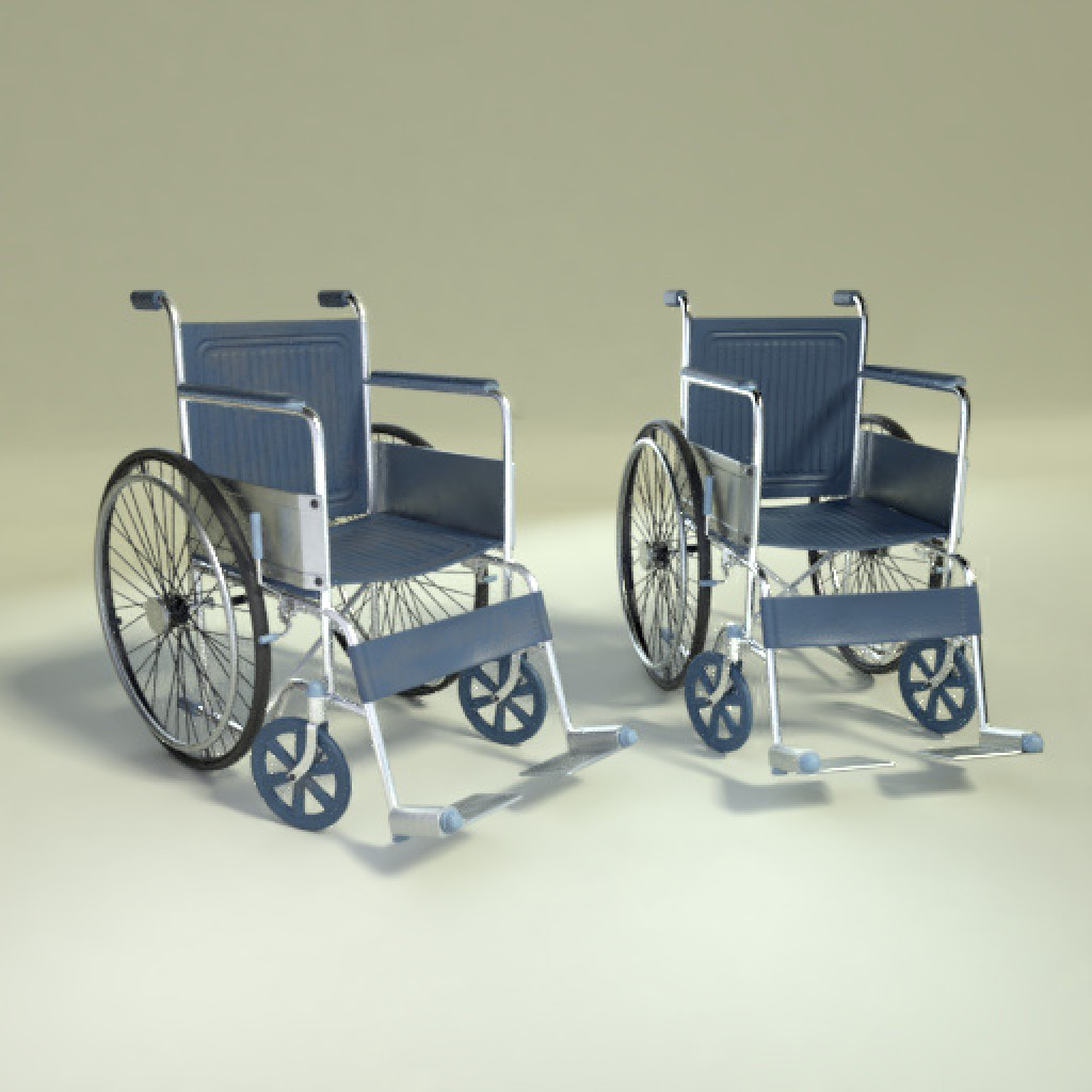 Wheelchair (old & new) preview image 1