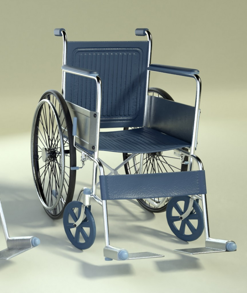 Wheelchair (old & new) preview image 2