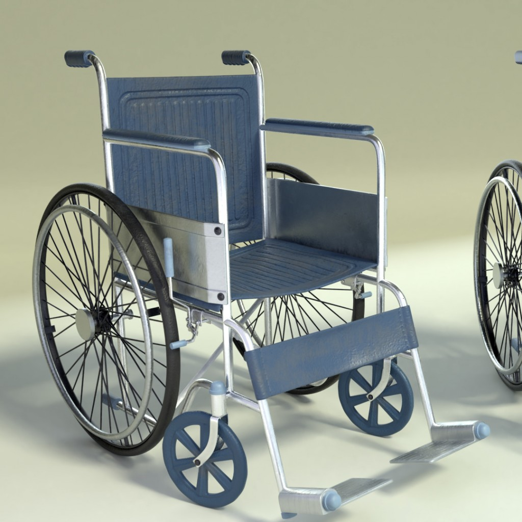Wheelchair (old & new) preview image 3
