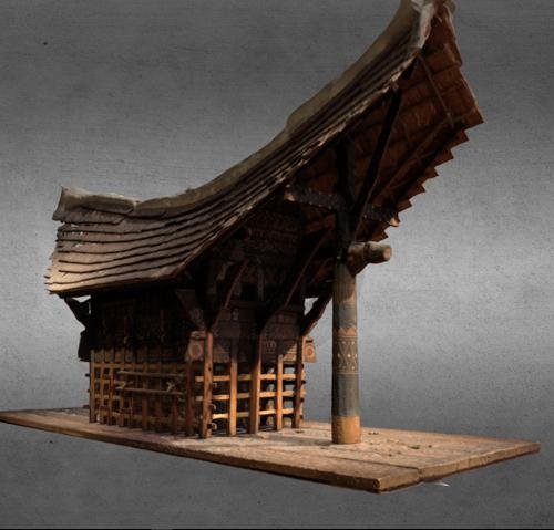 Model of Tongkonan preview image