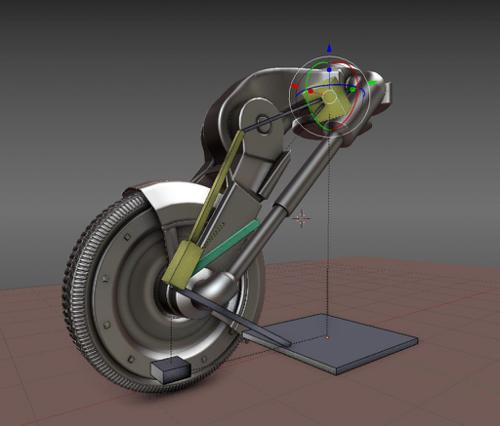 Simple Wheel Rig with Hydraulics preview image
