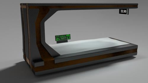 Sci-fi Bed preview image