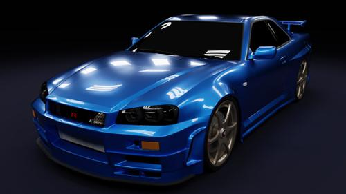 Nissan Skyline R34 GT-R preview image