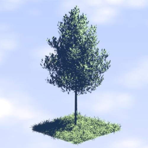 Non Photo Realistic Anime Tree preview image