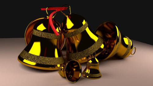 Brass Jingle bells preview image