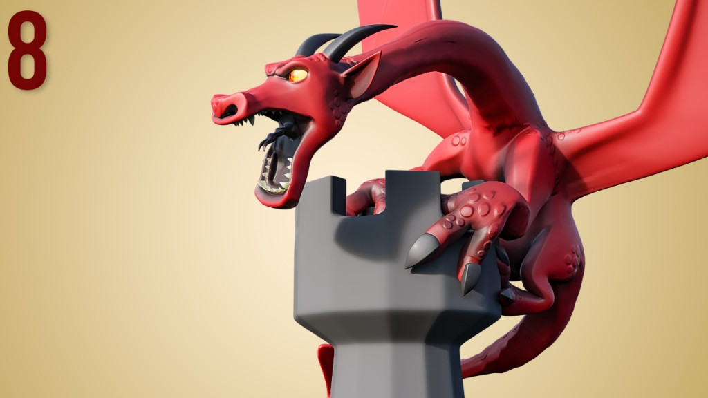 CGC Classic: Stylized Dragon preview image 1
