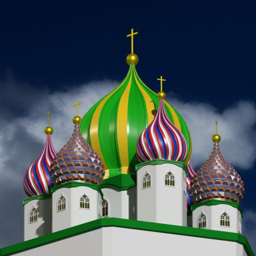 Onion domes preview image