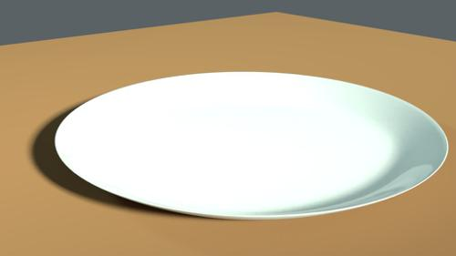 Simple plate preview image