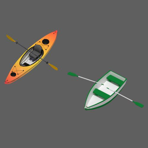 Kayak and Rowboat (Dinghy) preview image