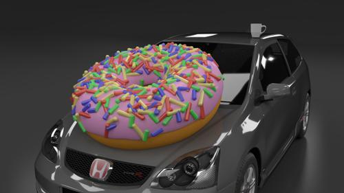 Honda Type R Combined with Doughnut preview image