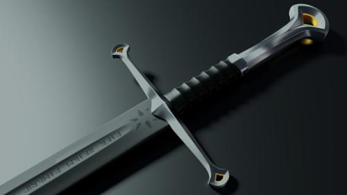 Lord Of the Rings movie sword. preview image