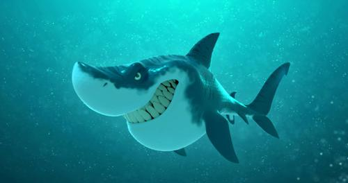 Shark Cartoon - Animation Ready preview image