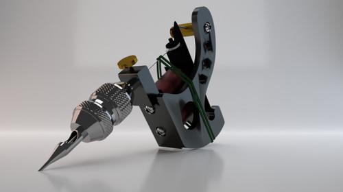 tattoo machine preview image
