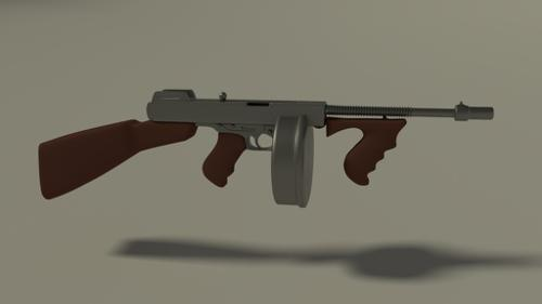 thompson/the tommy gun preview image