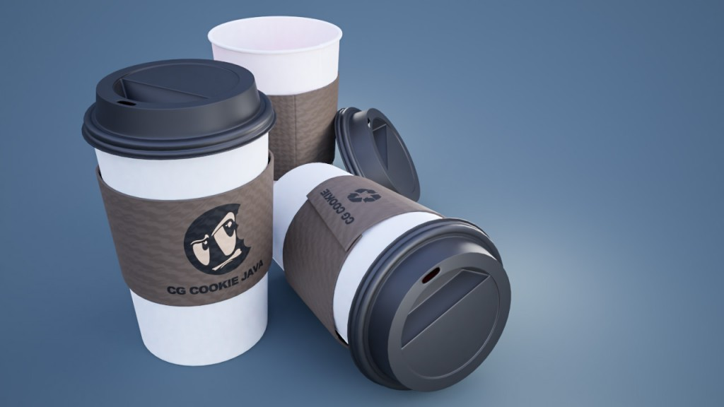 CGC Classic: Take Away Coffee Cup preview image 1