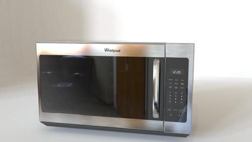 Microwave in Stainless Steel with Electronic Touch Controls preview image