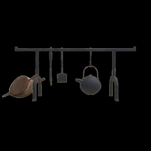 Fireplace Kettle Rack preview image
