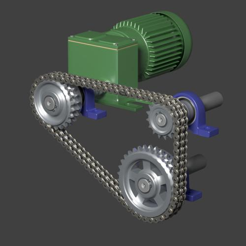 Roller chain  preview image