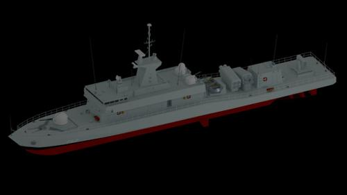 Fast attack missile boat preview image