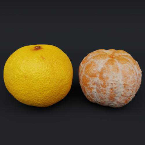 Tangerine - With/Without Peel preview image