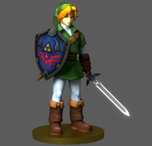 Link: Ocarina of Time preview image