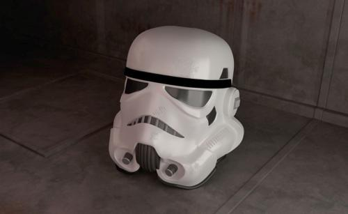 Stormtrooper helmet preview image