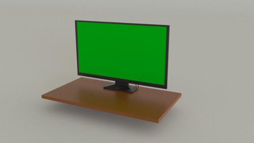 24 in Monitor with Screen and Cords preview image