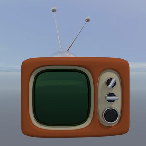 Stylized Retro TV preview image