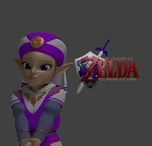 Young Zelda: Ocarina of Time preview image
