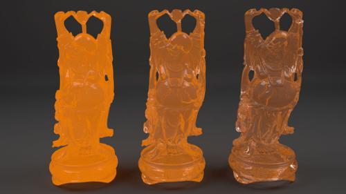Molten Glass Shader preview image