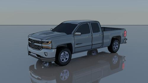 Chevrolet Pickup Truck preview image