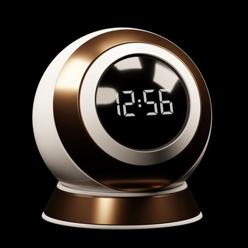 Procedual Digital Clock Face preview image