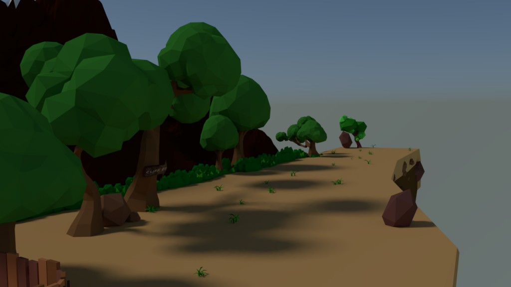 Lowpoly Cliff preview image 2