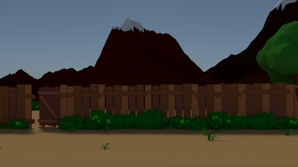 Lowpoly Cliff preview image 1