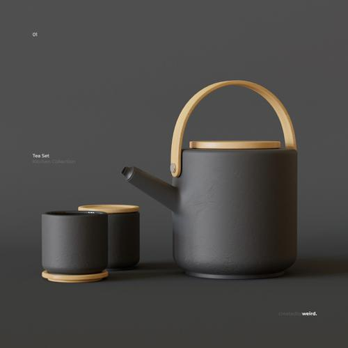 Stelton Theo Teapot Set preview image