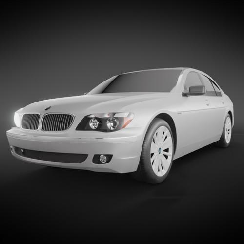 BMW E65 750Li 2006 preview image