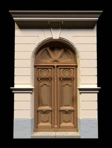 neoclassical door part 1) preview image