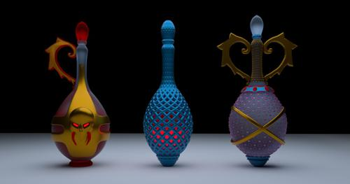 Bottle ... Set of potion bottles preview image