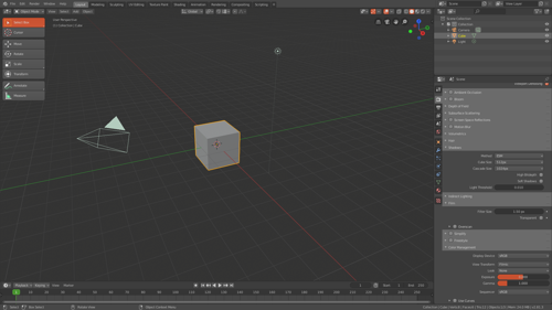 Awesome - Theme for Blender 2.8 preview image