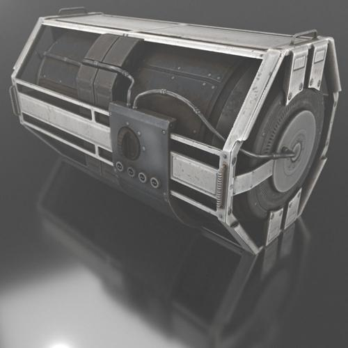 Futuristic Emergency Backup Generator preview image