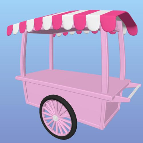Ice Cream cart preview image
