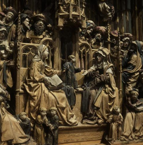 Altarpiece with the Kinship of St. Anne preview image