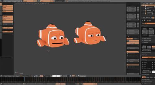 Fully Rigged Nemo preview image